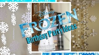 4 DIYs for Frozen Themed Birthday Decoration from Dollar Tree