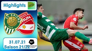 Highlights: SC Kriens vs FC Thun (31.07.21)