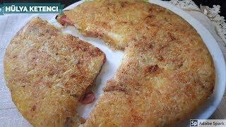 Kaşarlı Rendelenmiş Patates Böreği Tarifi-Hülya Ketenci- Kahvaltılık Tarifler