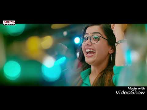 Video : Choosi Chudangane Full Video Song ( Edited Version) || Chalo Movie || Naga Shaurya, Rashmika