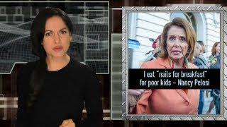 "Multi-millionaire Nancy Pelosi says she ""eat nails"" to help poor kids"