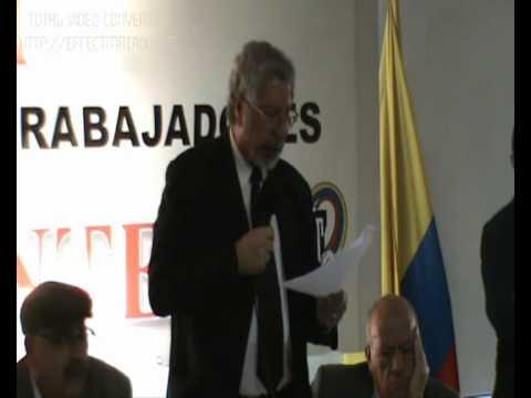 Visita de la OIT a la Central Unitaria de Trabajadores de Colombia