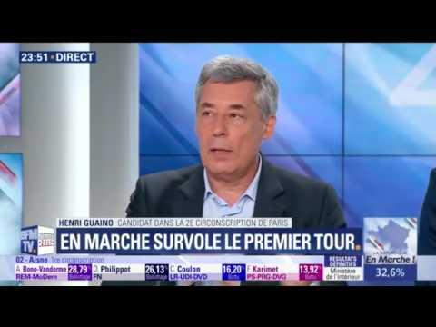 """Henri Guaino en direct sur BFM TV : """"Un electorat à vomir"""""""