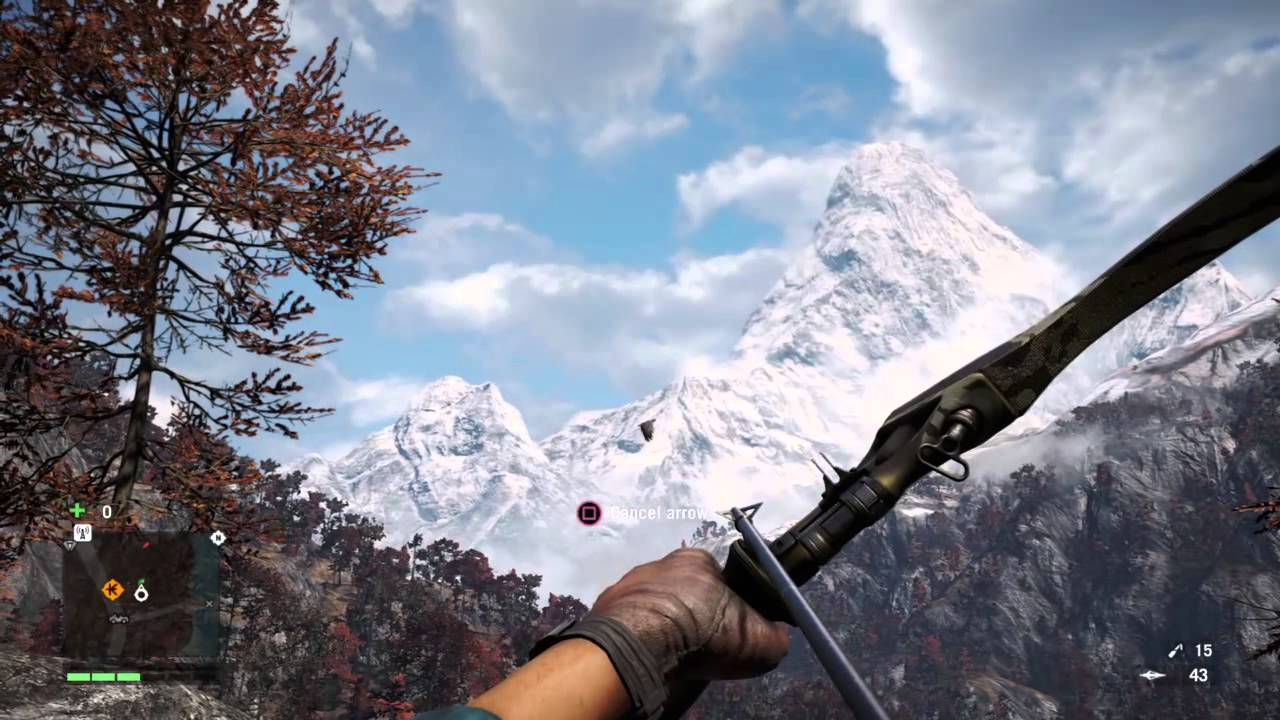 Far Cry 4 With No Reticle Tho Youtube