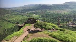 インド ダウラターバード要塞からのデカン高原