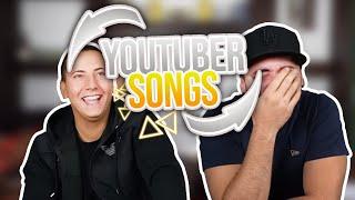 YOUTUBER SONGS Rückwärts Erraten! | mit EinfachPeter