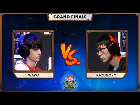 WAWA Vs KAZUNOKO (Grand Final) | Red Bull DBFZ World Tour Japan