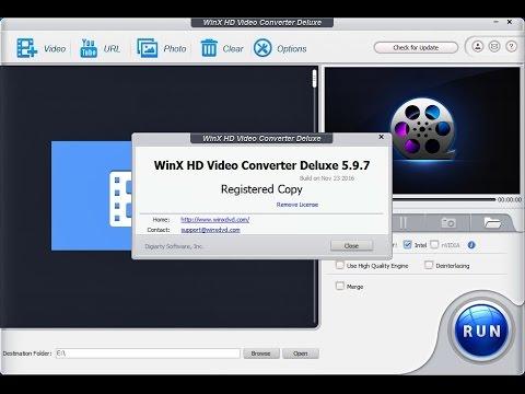 WinX HD Video Converter Deluxe 5.15.2 Crack License key Download