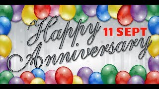 Happy Anniversary 11 SEPT| Wedding Anniversary Wishes/Greetings/Quotes/ For CoupleWhatsapp Status