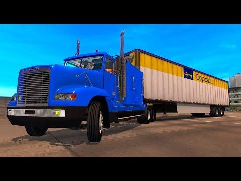 Freightliner FLD120 Cargamento de Coppel! Baja California Sur México American Truck Simulator