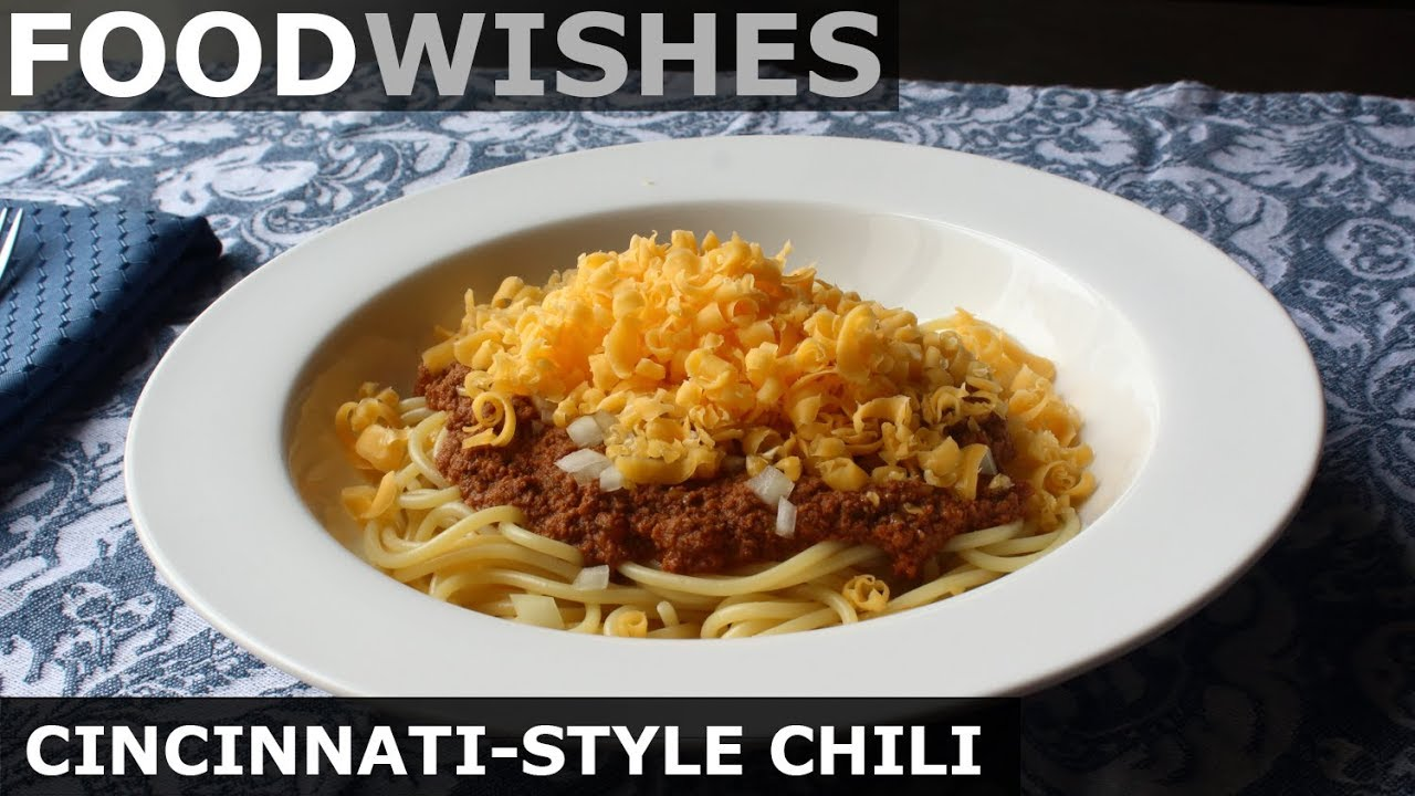 Chef John Makes Cincinnati Style Chili On His Hit Youtube Show Food Wishes And Includes A Recipe