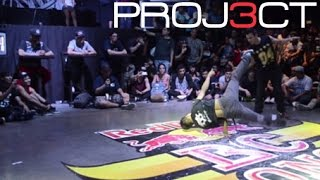 Top 16 Ztimpy vs Gato - Red Bull Bc One Cypher Mexico 2015/Bboy City Mexico 9