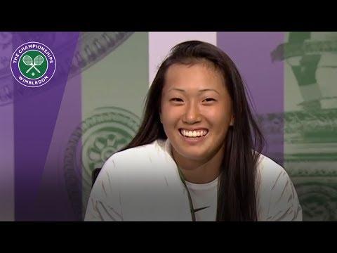 Claire Liu Wimbledon 2017 girls