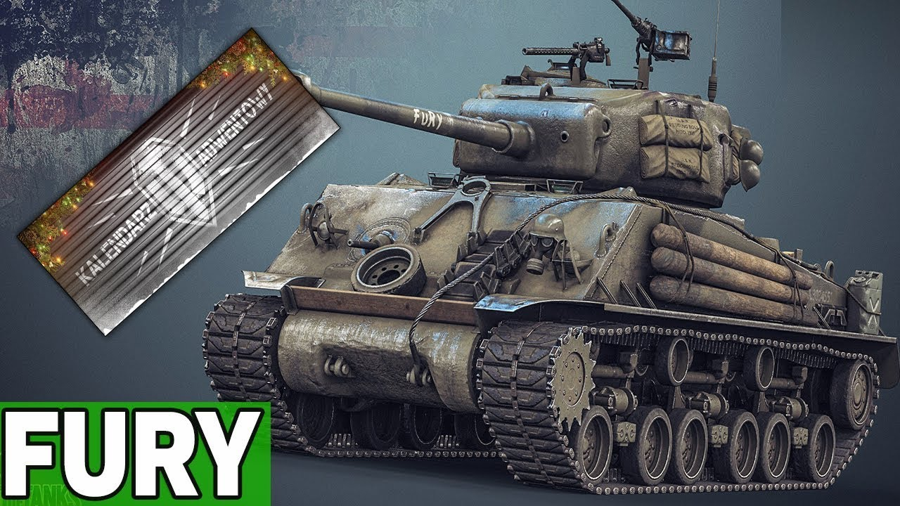 FURY  – KALENDARZ ADWENTOWY  – World of Tanks