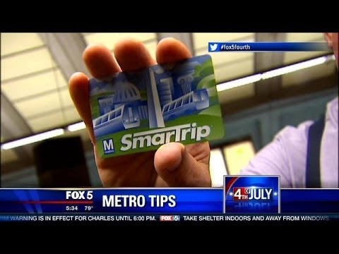 Great tips for using D.C. Metro on July 4th