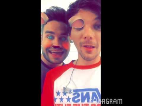 Louis tomlinson snapchat