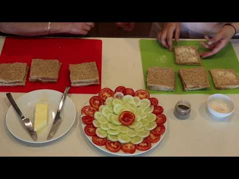 Sandwiches in 5 minutes! No Heat | Dubai Edition