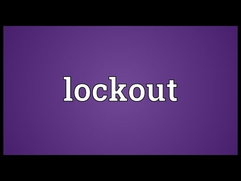 Lockout Meaning
