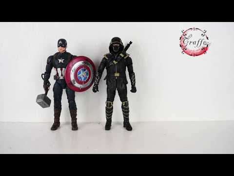 Marvel Legends Ronin Avengers End Game Unboxing & Review En Espanol