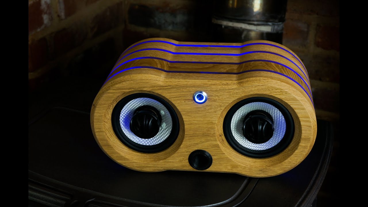 Awesome Speakers making an awesome white oak bluetooth speaker | shapeoko 3 - youtube