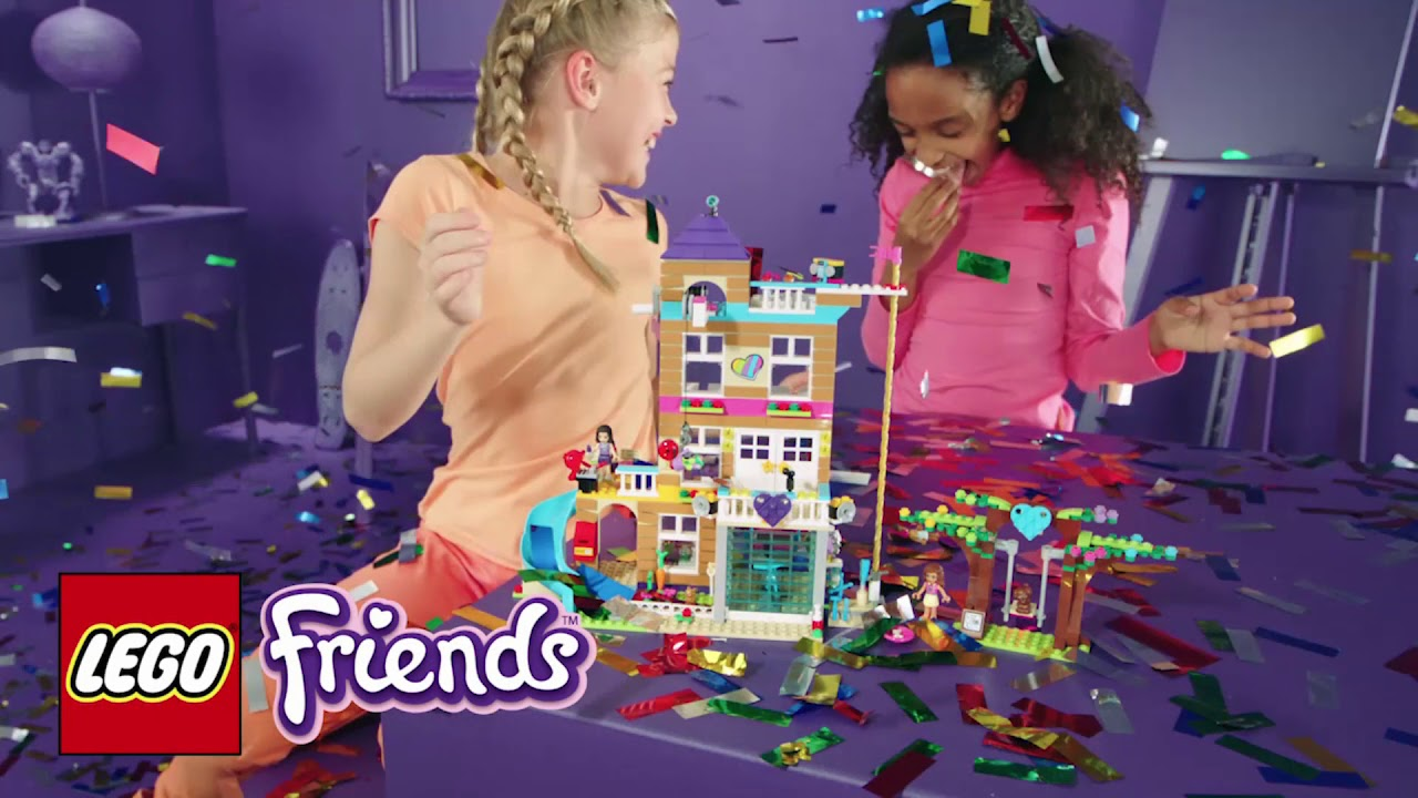 Lego 41340 Friends Heartlake Friendship House Building Set Smyths