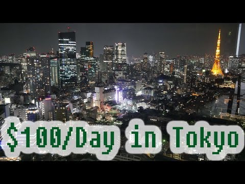 Travel to Tokyo for 100 Dollar a Day