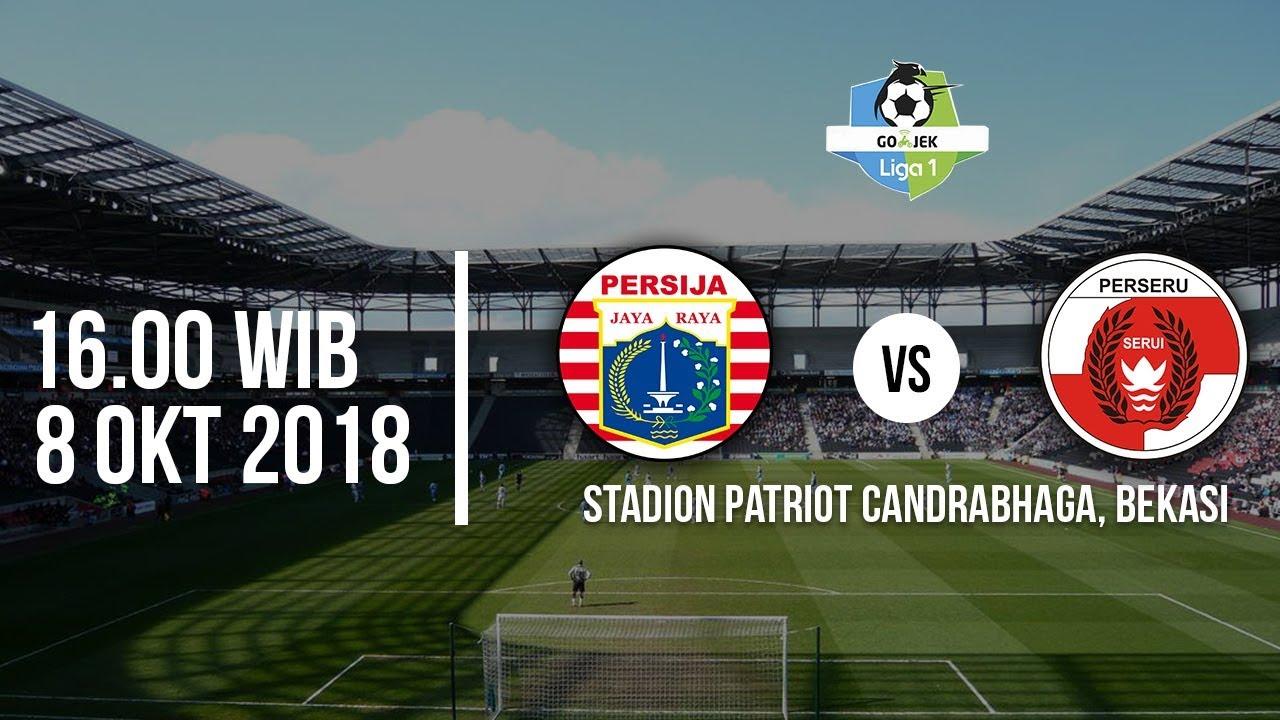 Jadwal Siaran Langsung Streaming Indosiar Liga 1 2018 Persija Vs