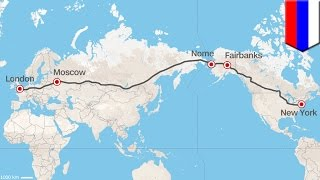 La Russie a pour projet de faire une route ''Express'' de Londres à New-York