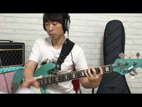 A Shade Of Blue (Incognito) - Bass Cover (J.J.W)