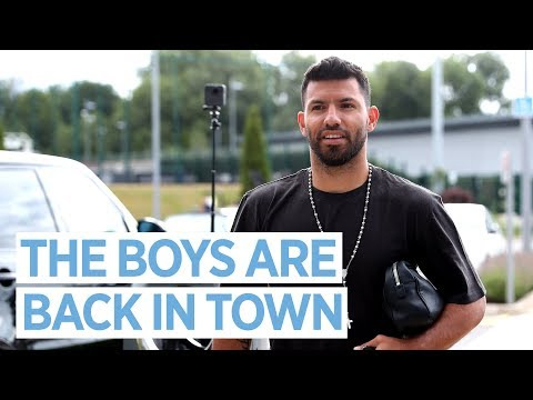 THE BOYS ARE BACK IN TOWN! | First Team Training