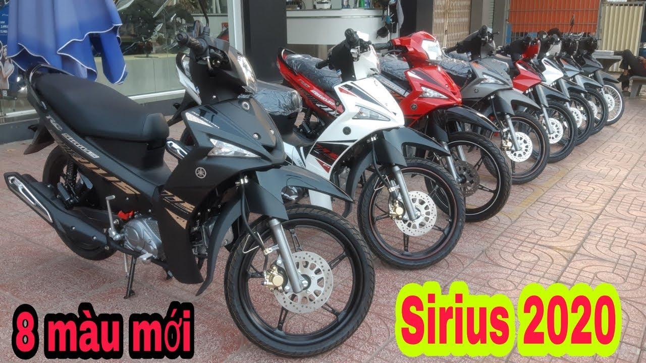 Yamaha Sirius FI 115cc & 110cc ra mắt 8 màu mới 2020 | Sáu Vlogs
