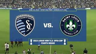 2015 Lamar Hunt U.S. Open Cup - Round 4: Sporting Kansas City vs. Saint Louis FC