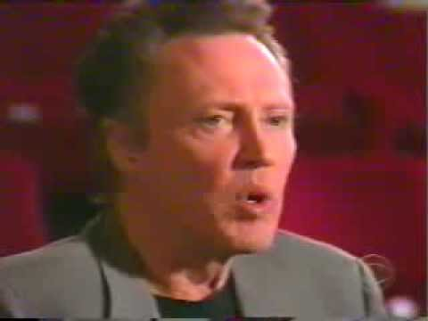 Christopher Walken interview with Charlie Rose on 60 Minutes 2, December 2002