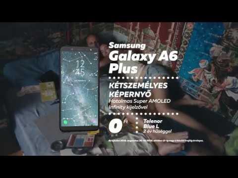 Minden #összebújós pillanatra: Samsung Galaxy A6+