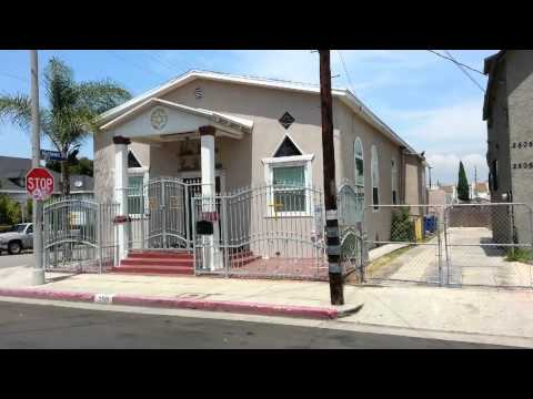 Old Synagogue on 2nd and Mathews; Boyle Heights