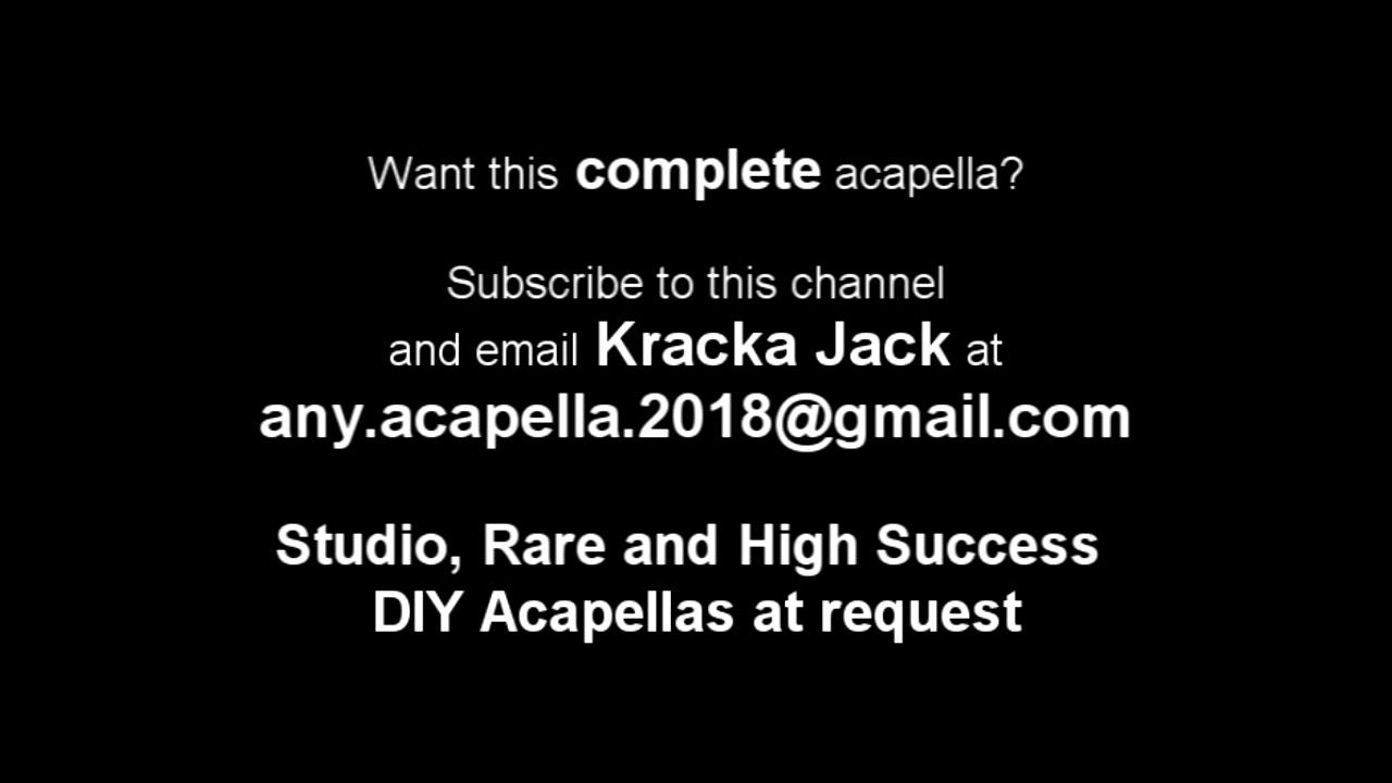 This DJ - Warren G - DIY Any Acapella 2018 1st Verse Only