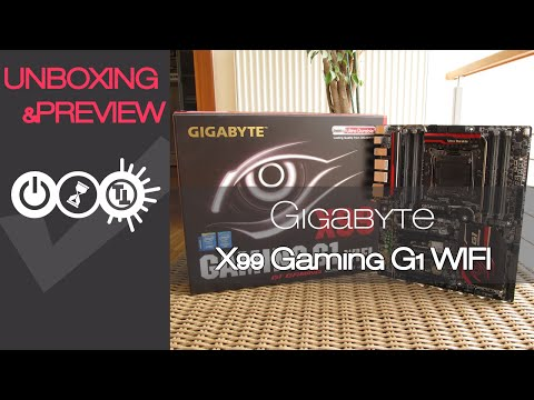 Gigabyte X99 Gaming G1 WIFI Unboxing & Preview