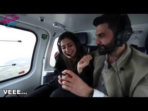 Helikopterde Evlilik Teklifi
