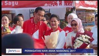 Begini Gaya Jokowi Main Sulap Didepan Ribuan Anak SD - JPNN.COM