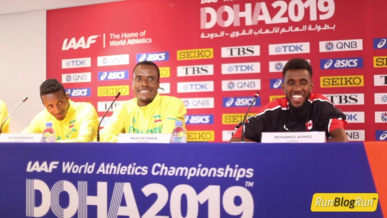 Doha WC 2019 - Men's 5000m Final Press Conference