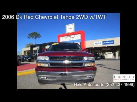 2006 Dk Red Chevrolet Tahoe 2WD w/1WT - Brooksville, FL 34613 - Used Cars