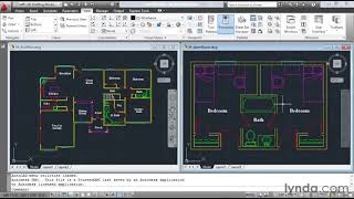 AutoCAD: How to manage multiple drawings   lynda.com tutorial