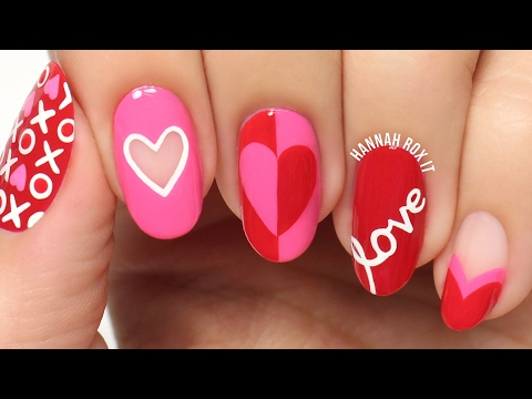 5 Cute Valentine's Day Nail Art Ideas!