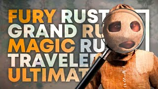 Фото Обзор и критика Fury, Grand, Magic, Traveler, Ultimate Rust - Ржавый инспектор в раст