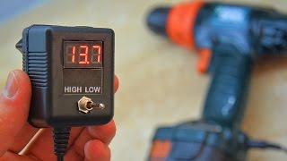 видео Зарядка шуруповерта. Схема зарядного устройства аккумулятора шуруповерта