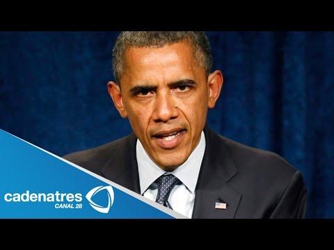 Barack Obama exige a Putin cooperación de rebeldes