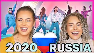 MAD REACTION Russia Eurovision 2020 Little Big \