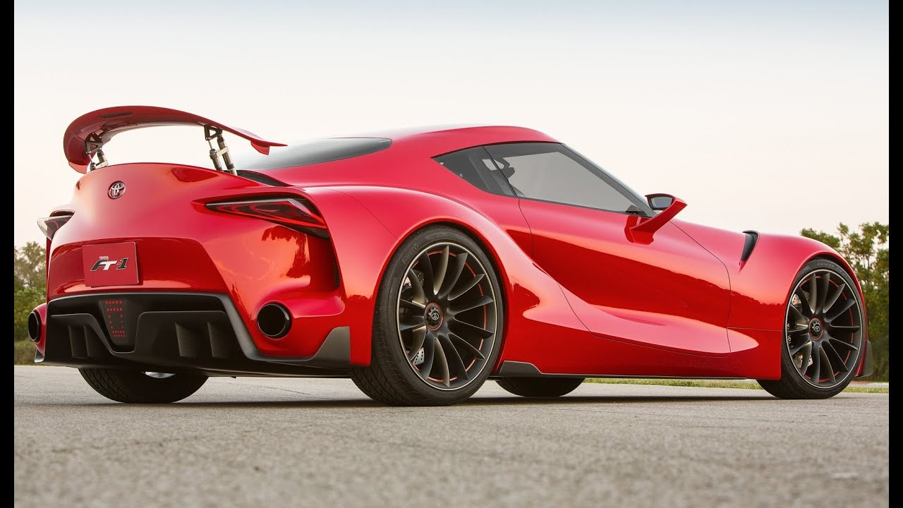 2016 Toyota Supra FT-1 Sport Car - YouTube