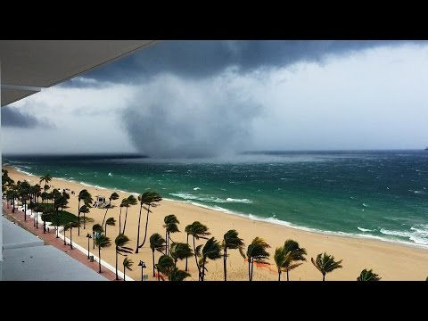 Tornado on Fort Lauderdale beach