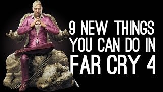 Far Cry 4: 9 New Things You Can Do In Far Cry 4